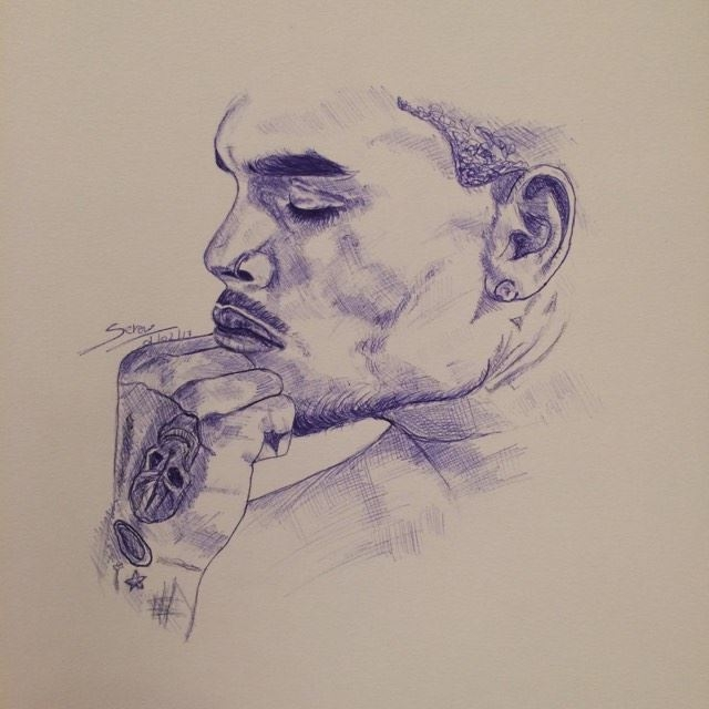 Chris Brown by SerenaToscano